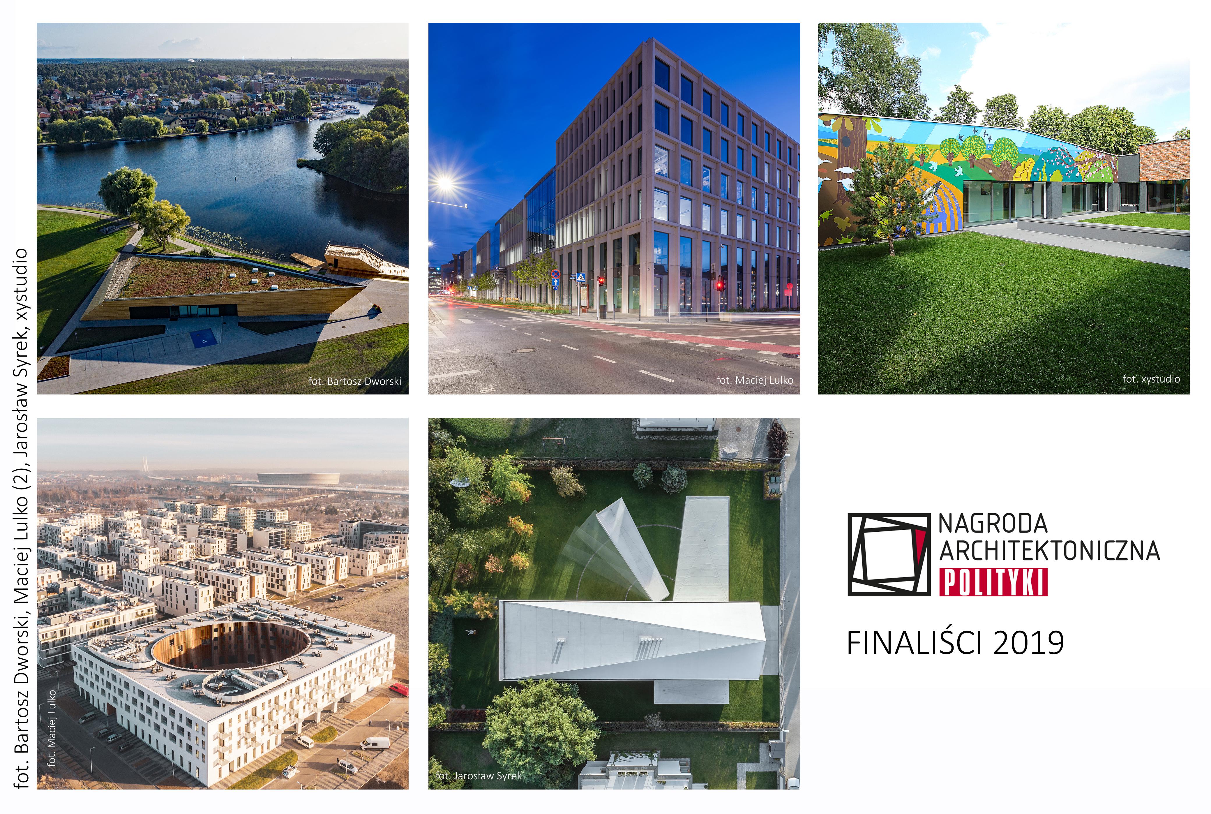 Nagroda Architektoniczna POLITYKI_FINALISCI_2019